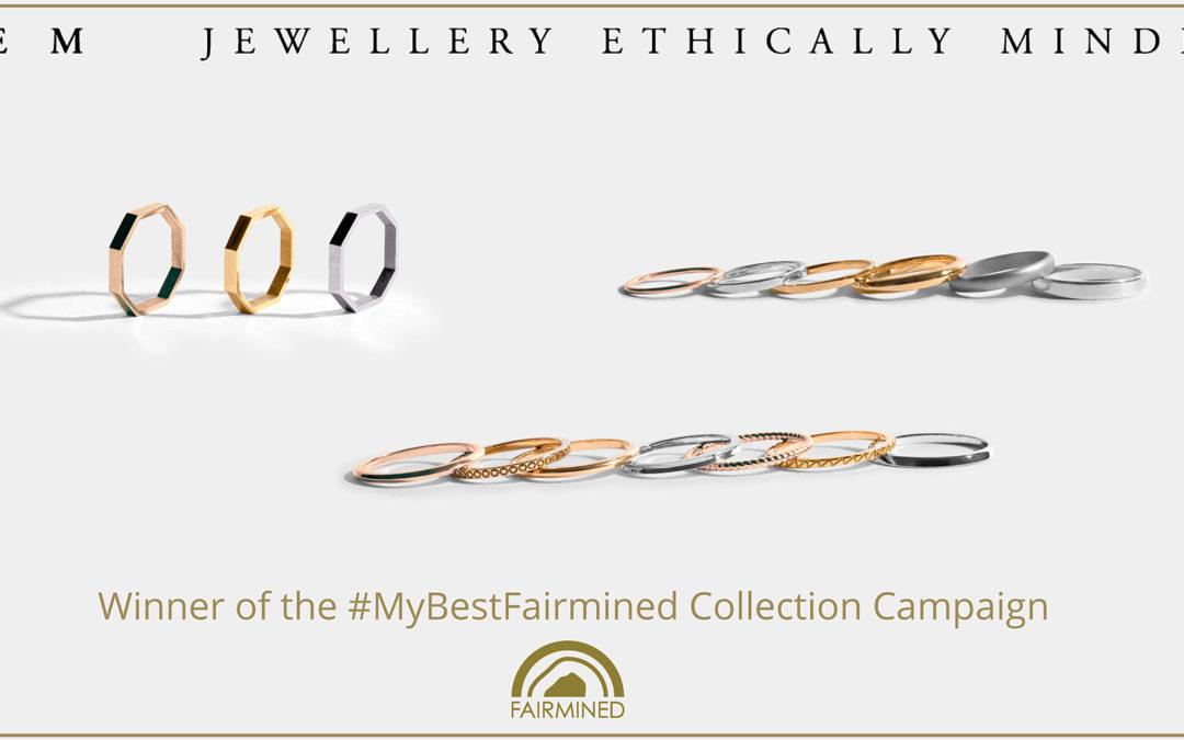 JEM Jewellery Ethically Minded ganador de la campaña Fairmined