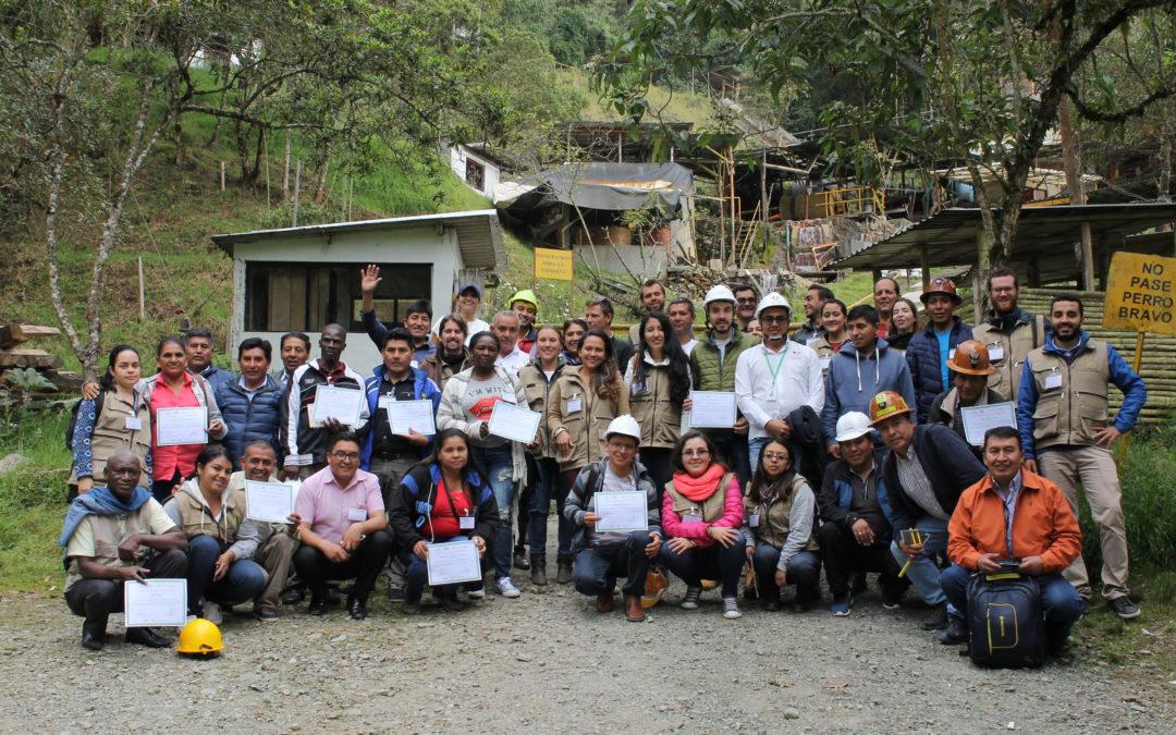 La minería responsable une a los mineros de los Países Andinos