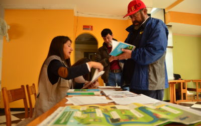 Presentation and handing-over of the Security and Health Management guide to the coal miners of Boyacá