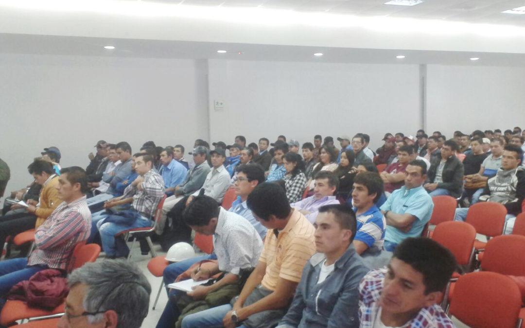 250 mineras y mineros de Colombia se certifican en seguridad minera