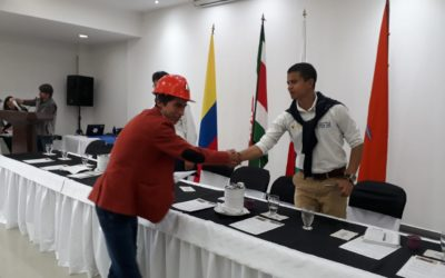250 miners from Colombia are certified in mining safety