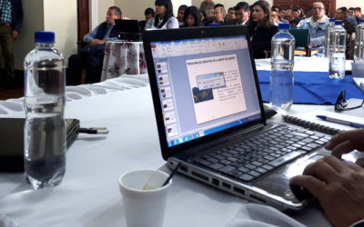 Training Colombian public officials on mining formalization