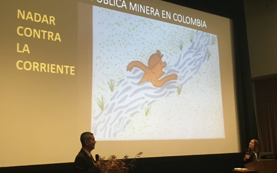 """Swimming against the tide"" – A story from a Colombian miner at the Chicago Responsible Jewelry Conference"