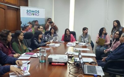We started the activities of the new stage of the project Somos Tesoro in Boyacá, Colombia!