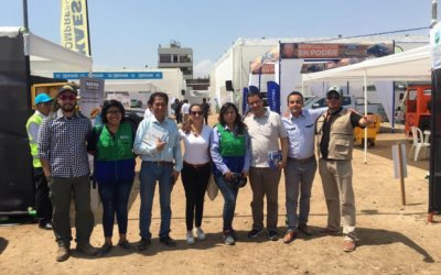 We attended the NEOMIN Fair in Peru