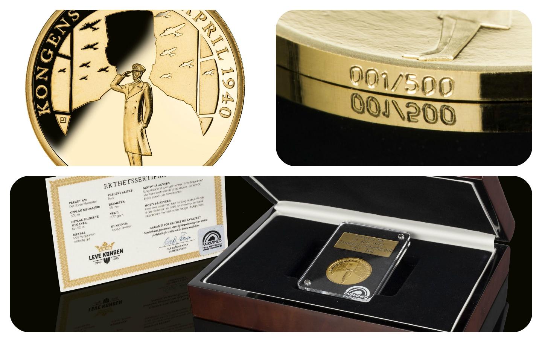 The King's Choice: la primera medalla conmemorativa del mundo en Oro Fairmined