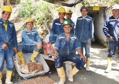 Support for certification of mining organizations in Colombia and Bolivia
