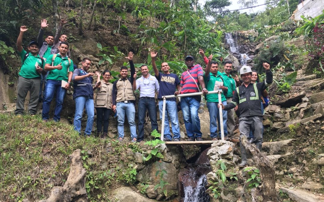 Artisanal miners from Honduras visit Colombia to exchange experience with their counterparts