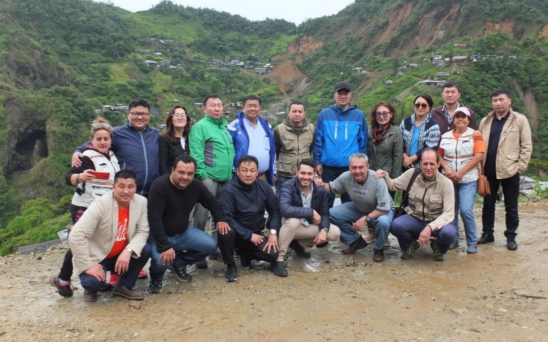 Mongolia intercambia experiencias con Ecuador y Colombia en temas de minería artesanal