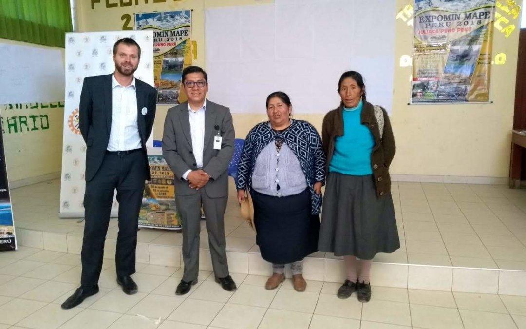 La Alianza por la Minería Responsable asiste a EXPOMIN MAPE PERÚ 2018