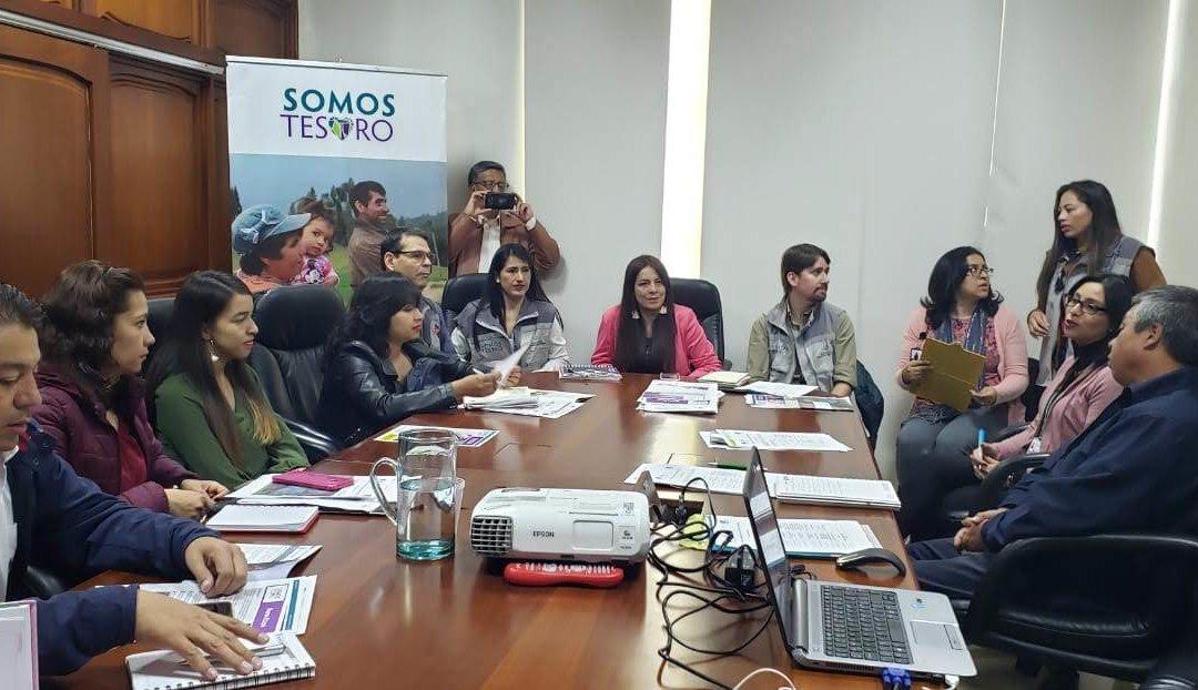 ¡Comenzamos actividades en Boyacá, Colombia, de la nueva etapa del proyecto Somos Tesoro!