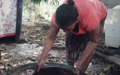 Gold panning in Colombia, an uncomfortable cultural heritage