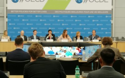 We took part in the OECD's Forum on responsible supply chains for minerals
