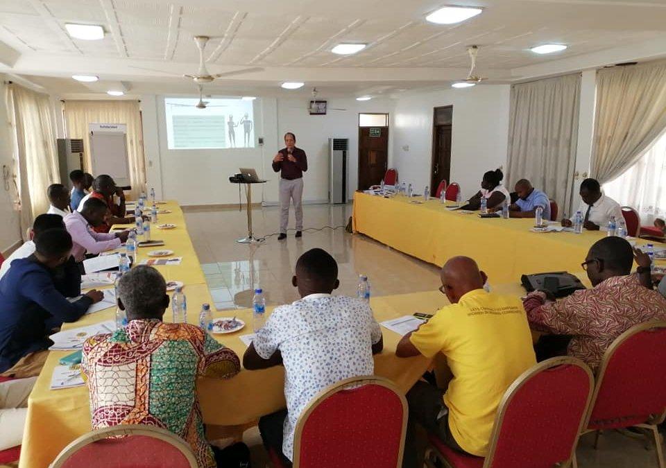 Taller sobre la aplicación del Código CRAFT en Tarkwa, Ghana