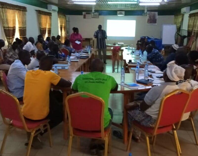 Lanzamiento del proyecto de Burkina Faso a nivel regional