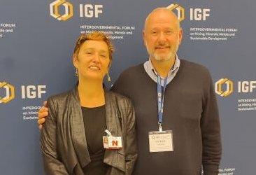 ARM participó en la Asamblea General Anual sobre minería en Ginebra