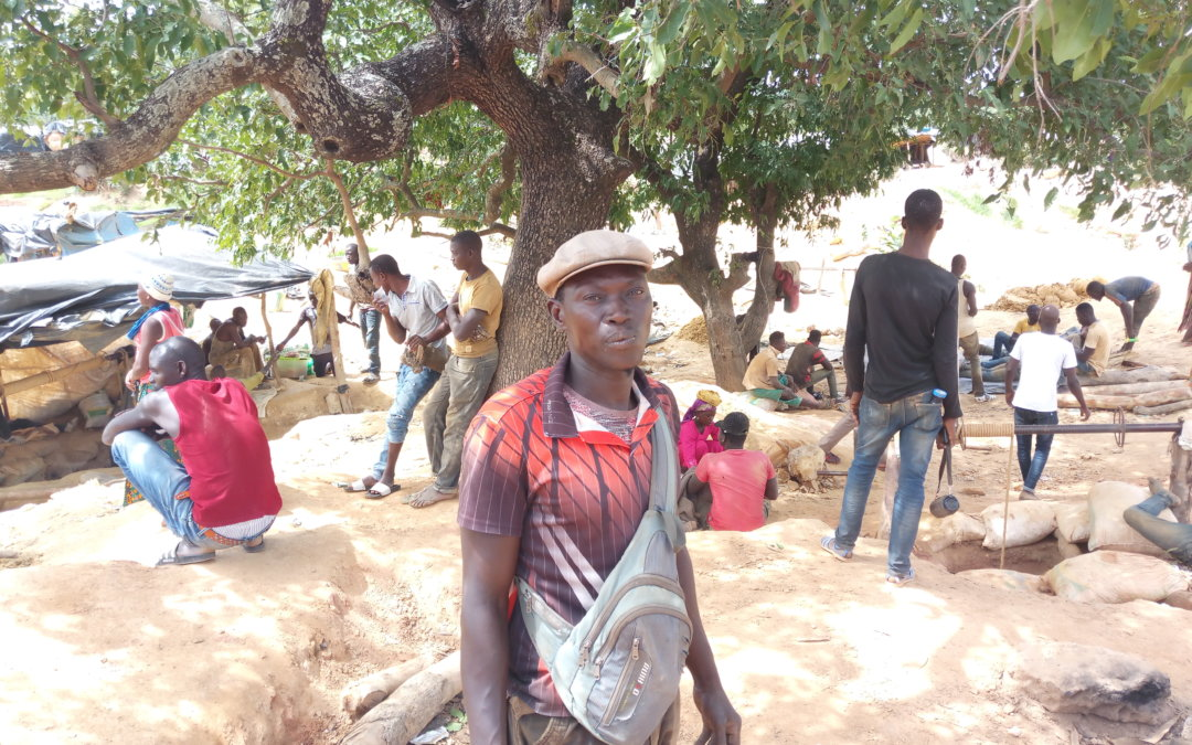 Étude de la COVID-19 dans les communautés minières artisanales