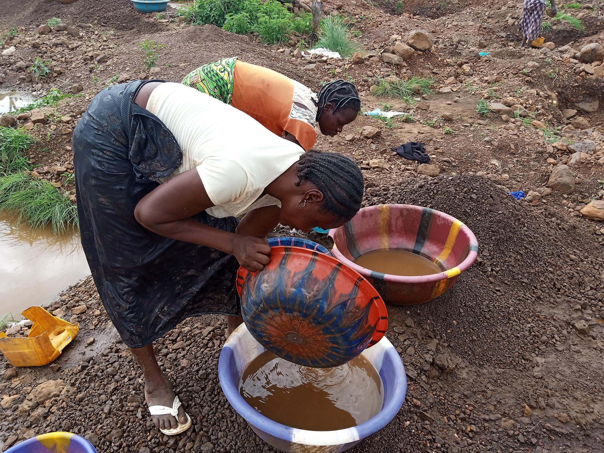 Artisanat minier et résilience des communautés rurales déplacées