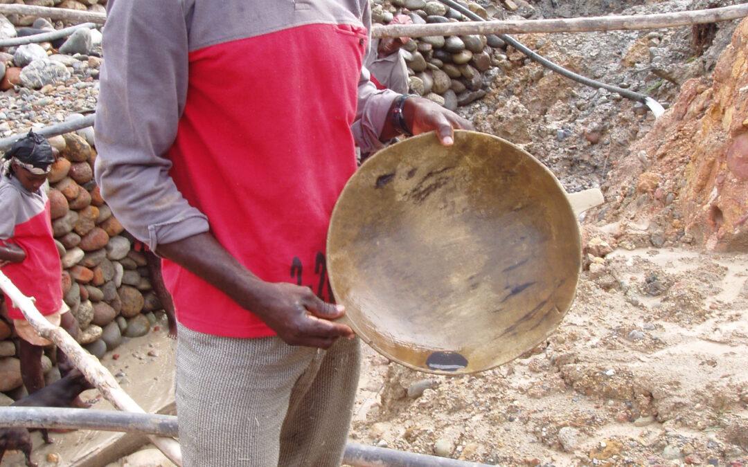 La realidad de la minería étnica