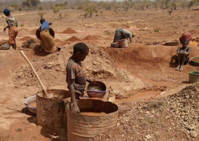 Projet «Fondations pour la paix» dans le secteur de la mine artisanale et à petite échelle de l'or au Burkina Faso