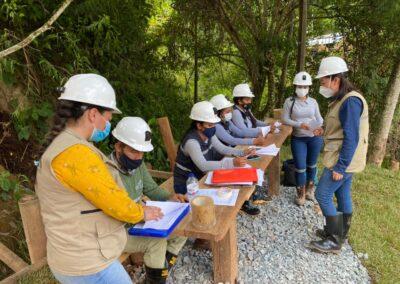 Fortalecimiento de capacidades y promoción de la implementación de la debida diligencia efectiva en materia de seguridad y derechos humanos en la región de Antioquia